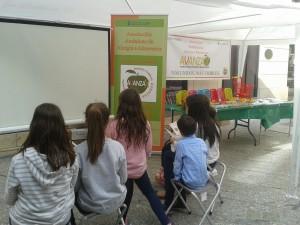 Talller etiquetado para niños SMA Málaga 2016