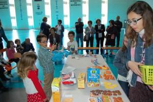 Convivencia y taller etiquetado para niños SMA Almería 2016