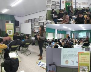 Jornada formativa en el IES Jacaranda